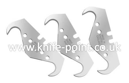 100 x Heavy Duty SUPERHOOK Blades, 2 notch, MADE IN SHEFFIELD